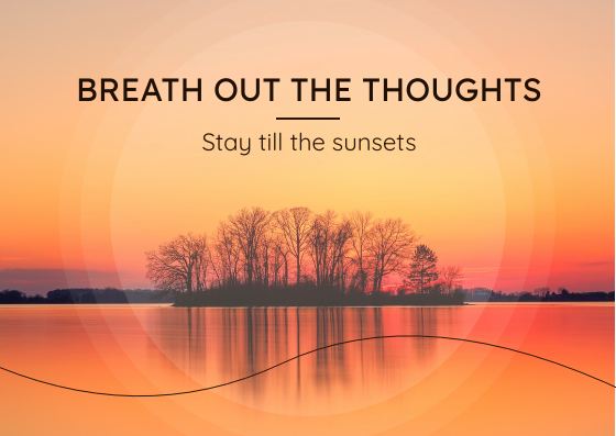 Post Card template: Stay Till The Sunset Post Card (Created by InfoART's Post Card marker)