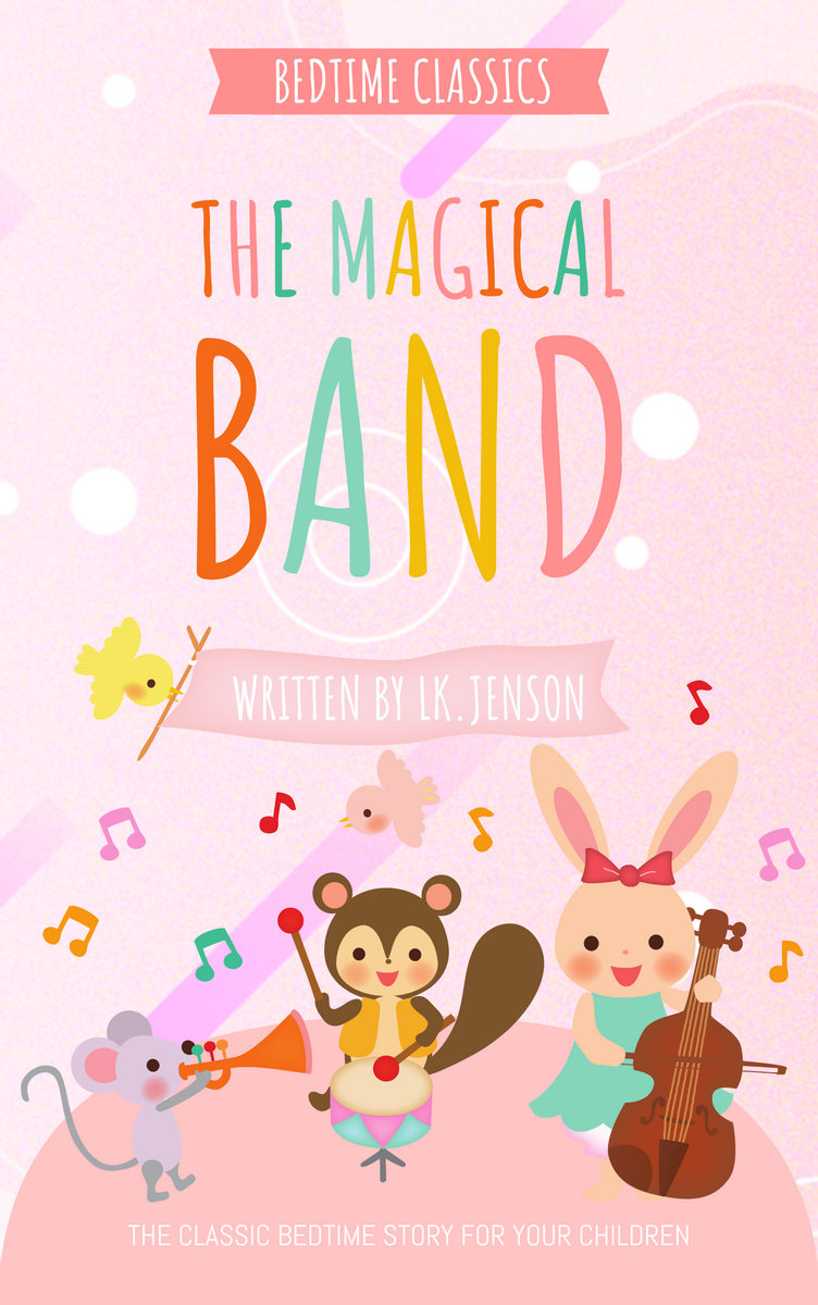 Book Cover template: Classic Bedtime Musical Story Book Cover (Created by InfoART's Book Cover maker)