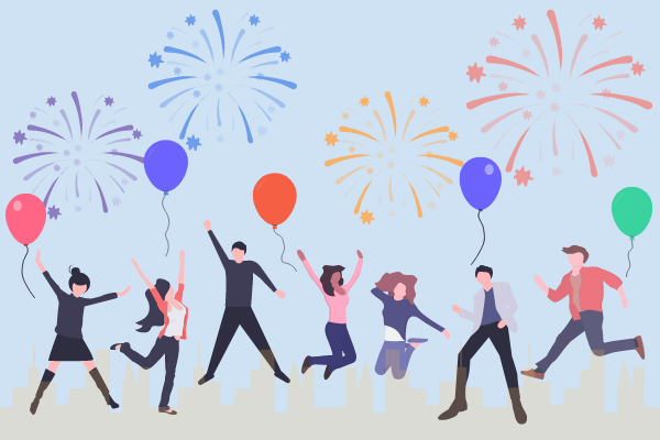 Festival Illustration template: Festival Celebration Illustration (Created by Scenarios's Festival Illustration maker)
