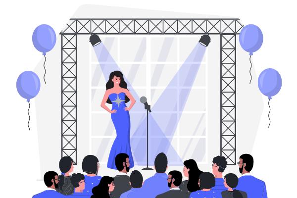 Festival Illustration template: Concert Illustration (Created by Scenarios's Festival Illustration maker)