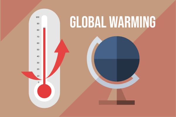 Laboratory template: Global Warming (Created by InfoChart's Laboratory maker)