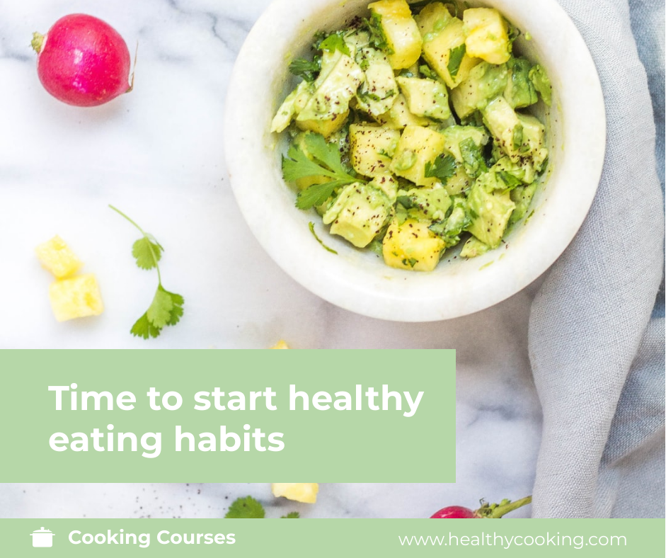 Facebook Post template: Healthy Cooking Courses Facebook Post (Created by InfoART's Facebook Post maker)