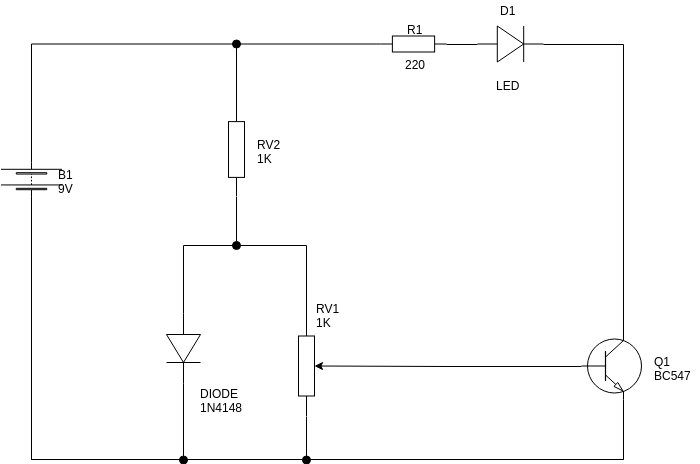 Circuit Diagram template: Heat Sensor (Created by Diagrams's Circuit Diagram maker)