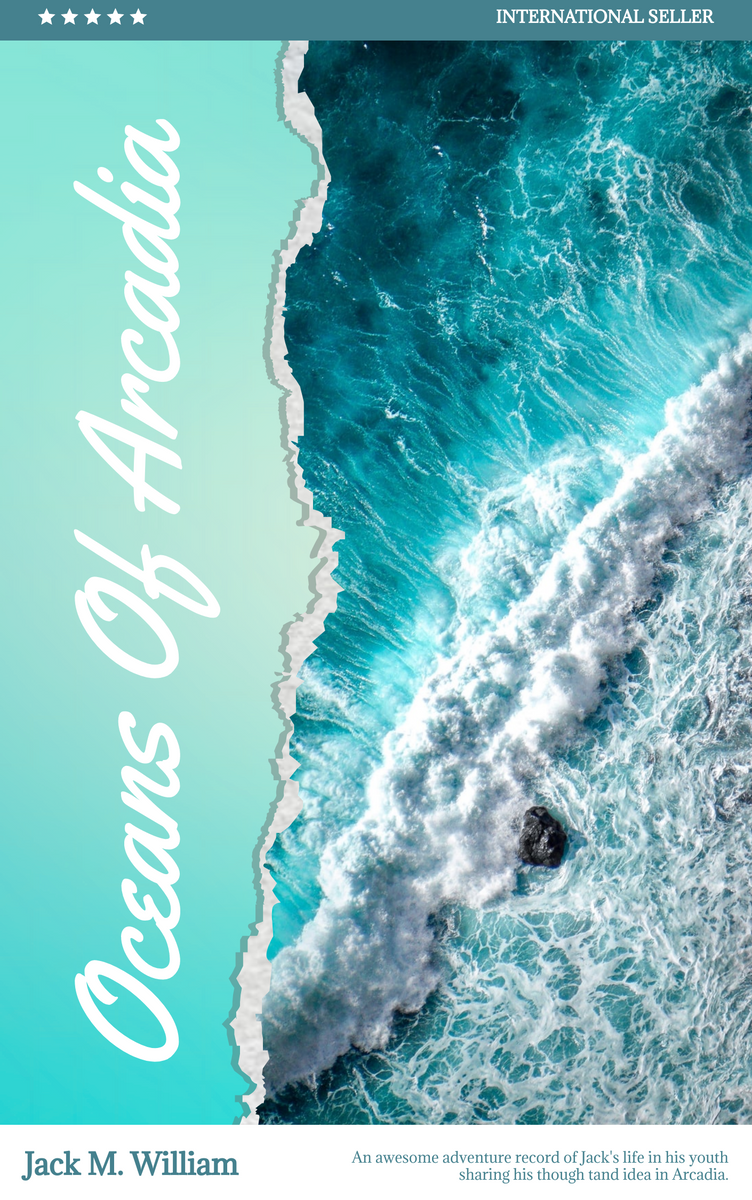 Book Cover template: Travel Memories Of Arcadia Book Cover (Created by InfoART's Book Cover maker)