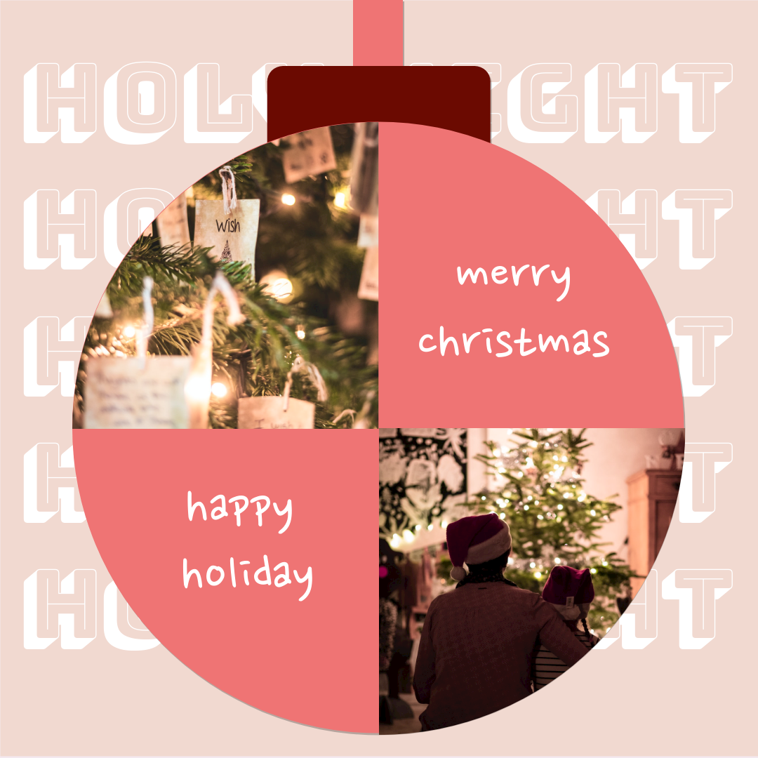 Instagram Post template: Christmas Holiday Instagram Post (Created by Collage's Instagram Post maker)