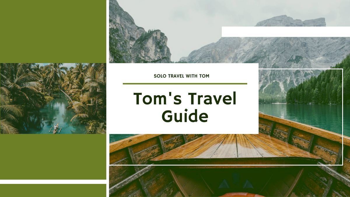 YouTube Channel Art template: Green And White Travel Adventure YouTube Channel Art  (Created by InfoART's YouTube Channel Art maker)