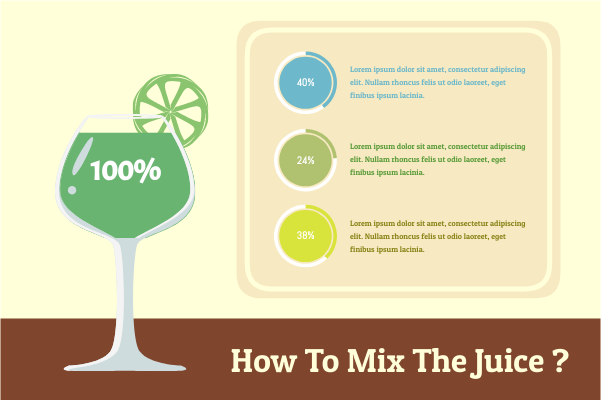 Container template: Mixing The Juice (Created by InfoChart's Container maker)