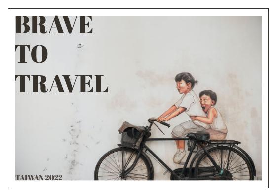 Postcard template: Taiwan Postcard (Created by InfoART's Postcard maker)
