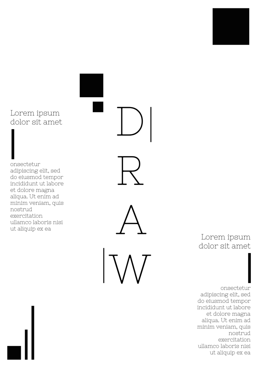 Poster template: Artistic Drawing Activity Poster (Created by InfoART's Poster maker)