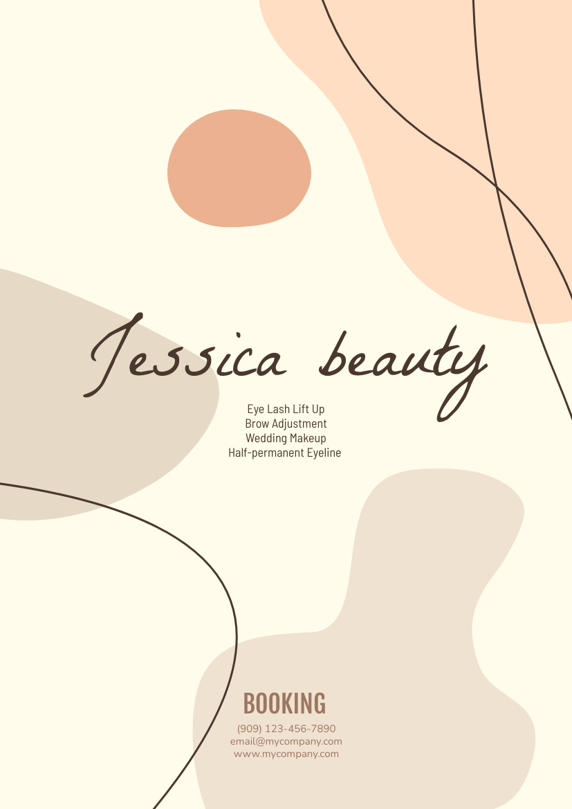 Jessica Beauty Flyer