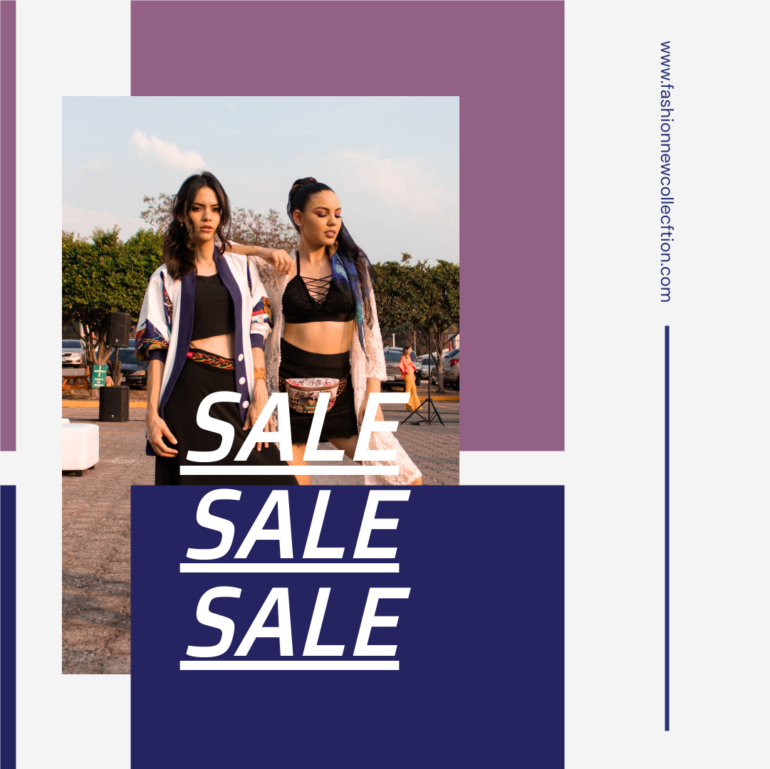 Instagram Post template: Woman Fashion Photo Sale Promotion Instagram Post (Created by InfoART's Instagram Post maker)