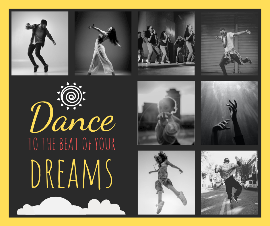 Facebook Post template: Dancing Collage Facebook Post (Created by Collage's Facebook Post maker)