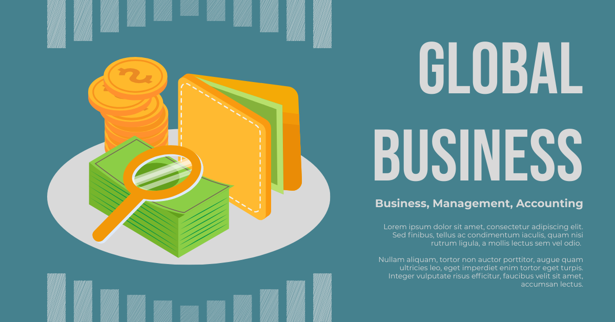 Facebook Ad template: Global Business Promotional Facebook Ad (With Illustration) (Created by InfoART's Facebook Ad maker)