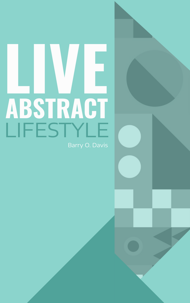 Book Cover template: Abstract lifestyle book cover (Created by InfoART's Book Cover maker)