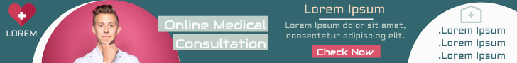 Banner Ad template: Online Medical Consultation Banner Ad (Created by InfoART's Banner Ad maker)