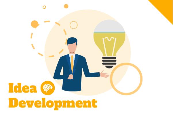 Progress template: Idea Development (Created by InfoChart's Progress maker)