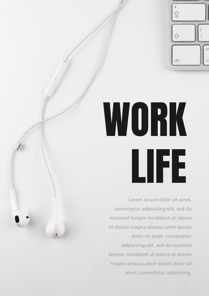 Work life Flyer