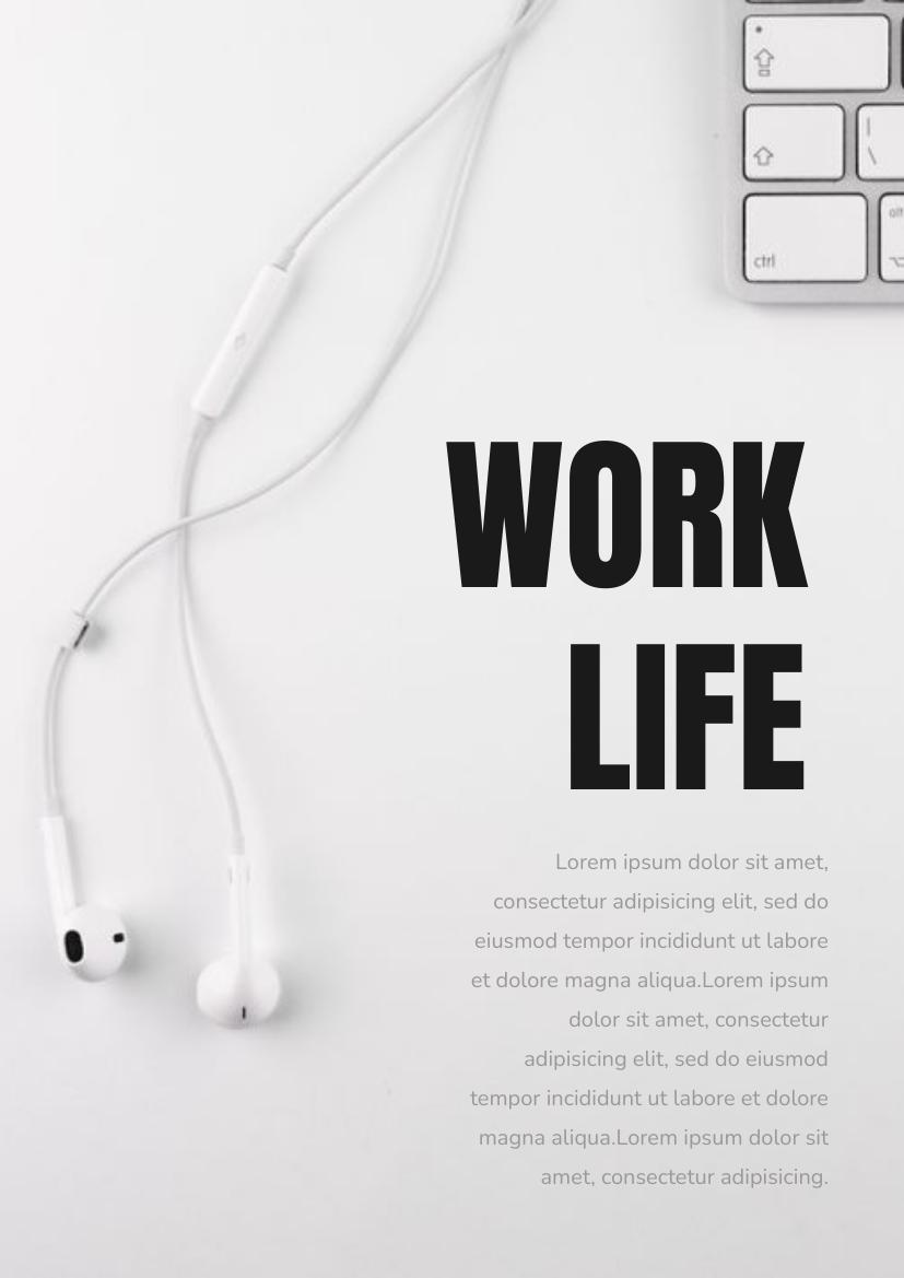 Flyer template: Work Life Flyer (Created by InfoART's Flyer maker)