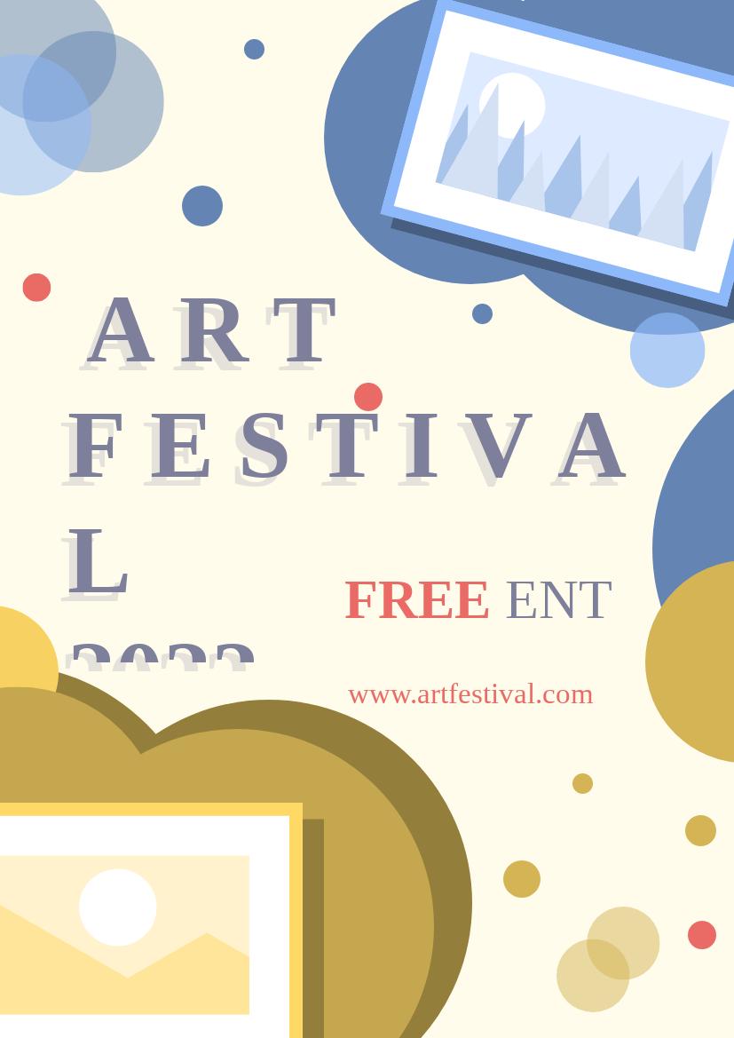 Flyer template: Art Fest Flyer (Created by InfoART's Flyer maker)
