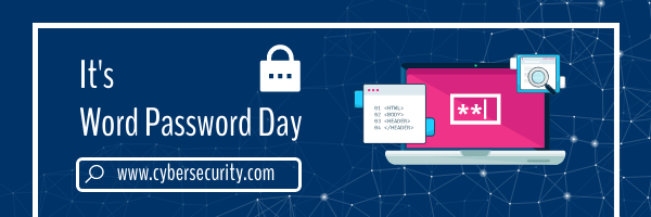 Email Header template: World Password Day Awareness Email Header (Created by InfoART's Email Header maker)
