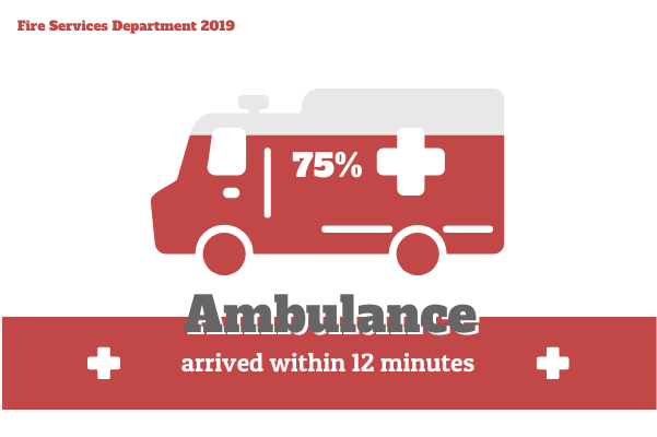 Medical template: Ambulance  (Created by InfoChart's Medical maker)