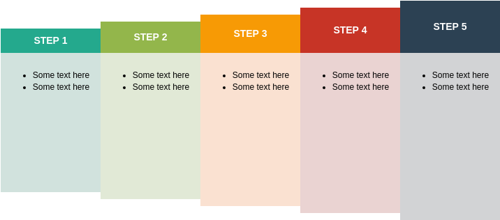 Process Block Diagram template: Interconnected Block Process (Created by Diagrams's Process Block Diagram maker)