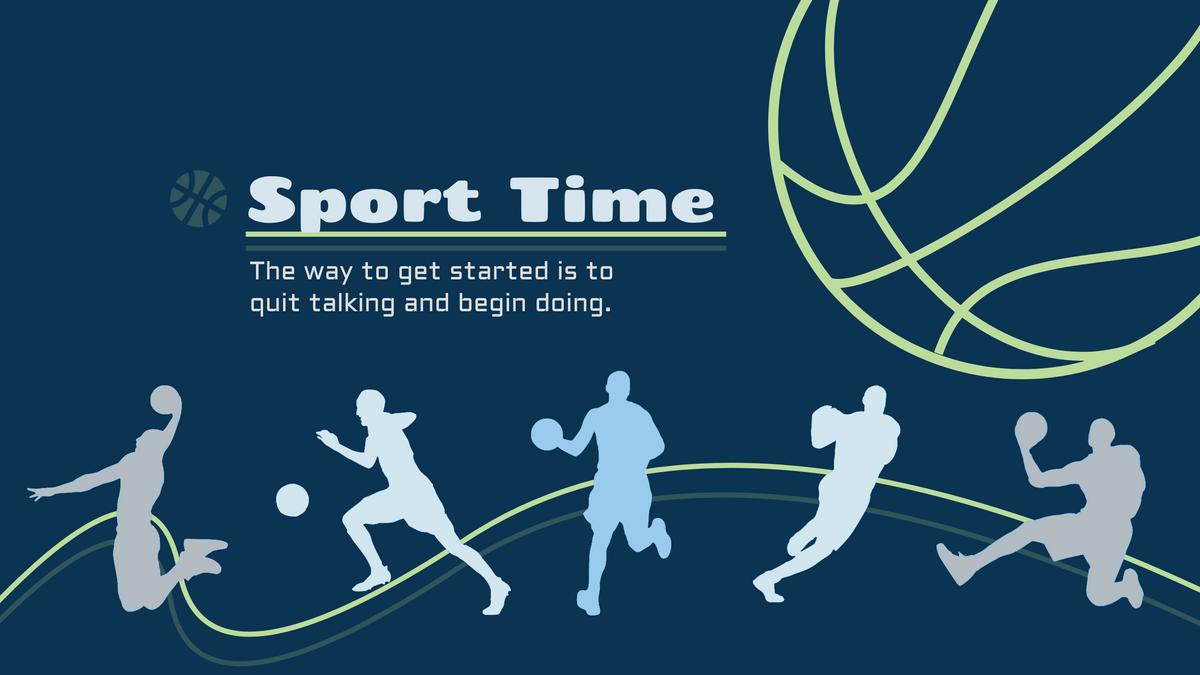 YouTube Channel Art template: Sport YouTube Channel Art (Created by InfoART's YouTube Channel Art maker)