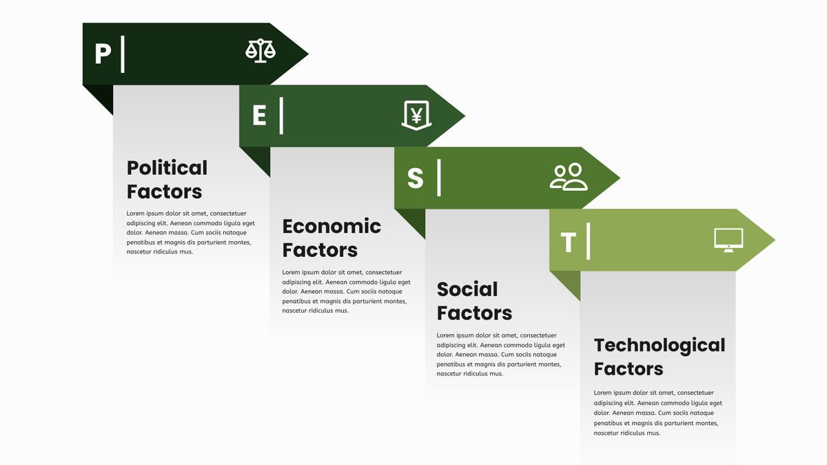 PEST Diagram Infographic