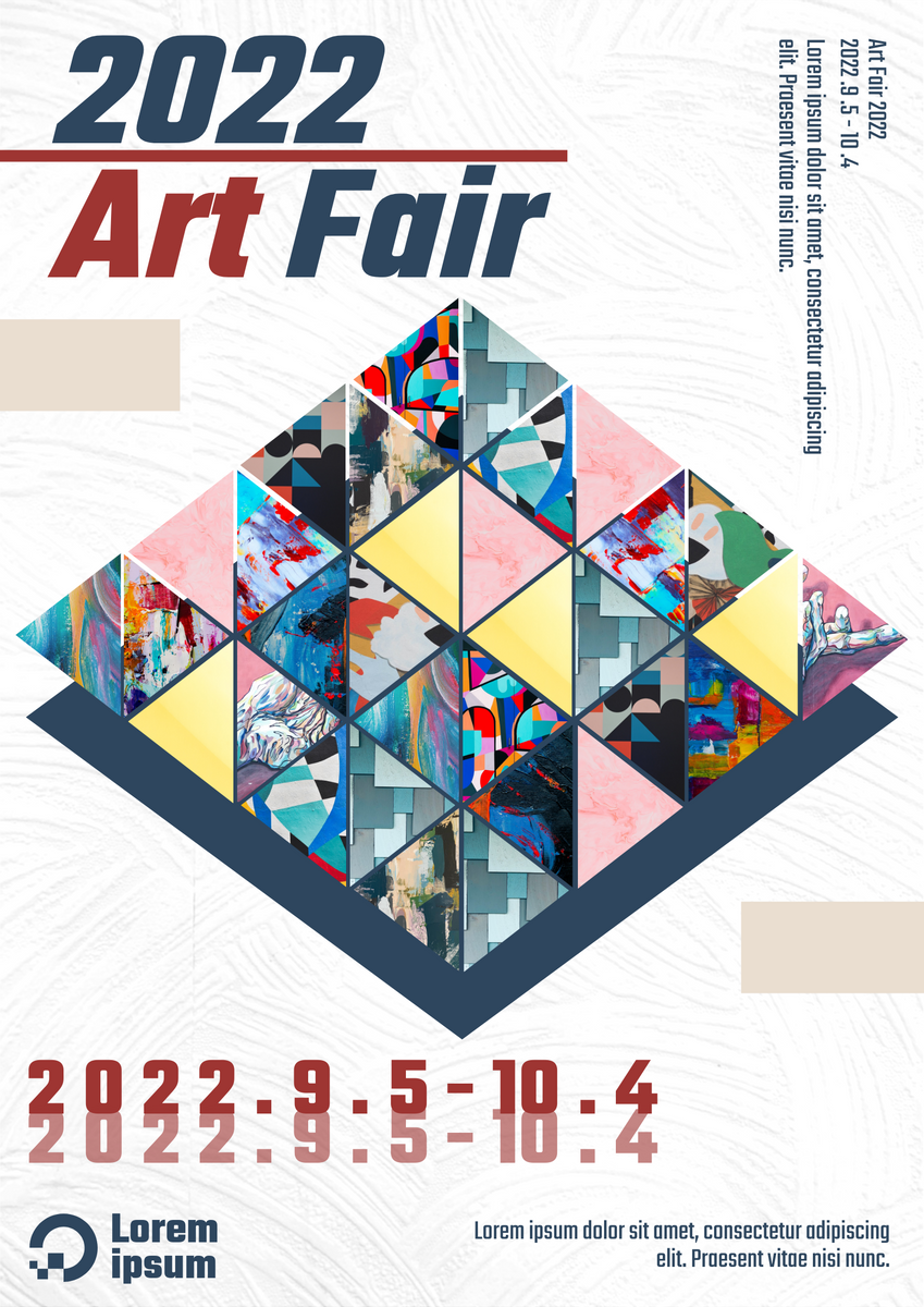 Poster template: Air Fair Poster (Created by Collage's Poster maker)