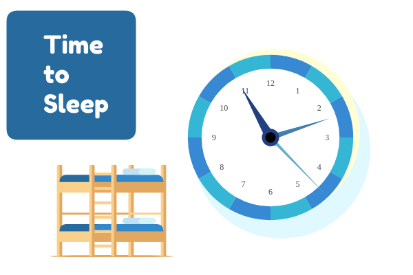 Medical template: Time To Sleep (Created by InfoChart's Medical maker)
