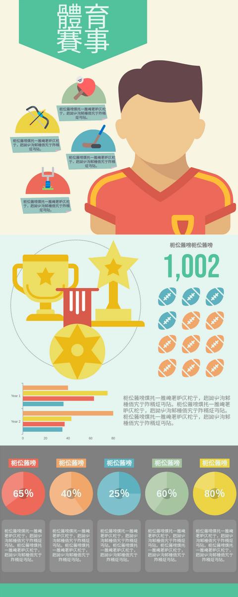 信息圖表 template: 體育賽事 (Created by InfoART's 信息圖表 maker)