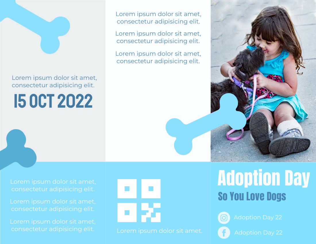 Brochure template: Adoption Day Brochure (Created by InfoART's Brochure marker)
