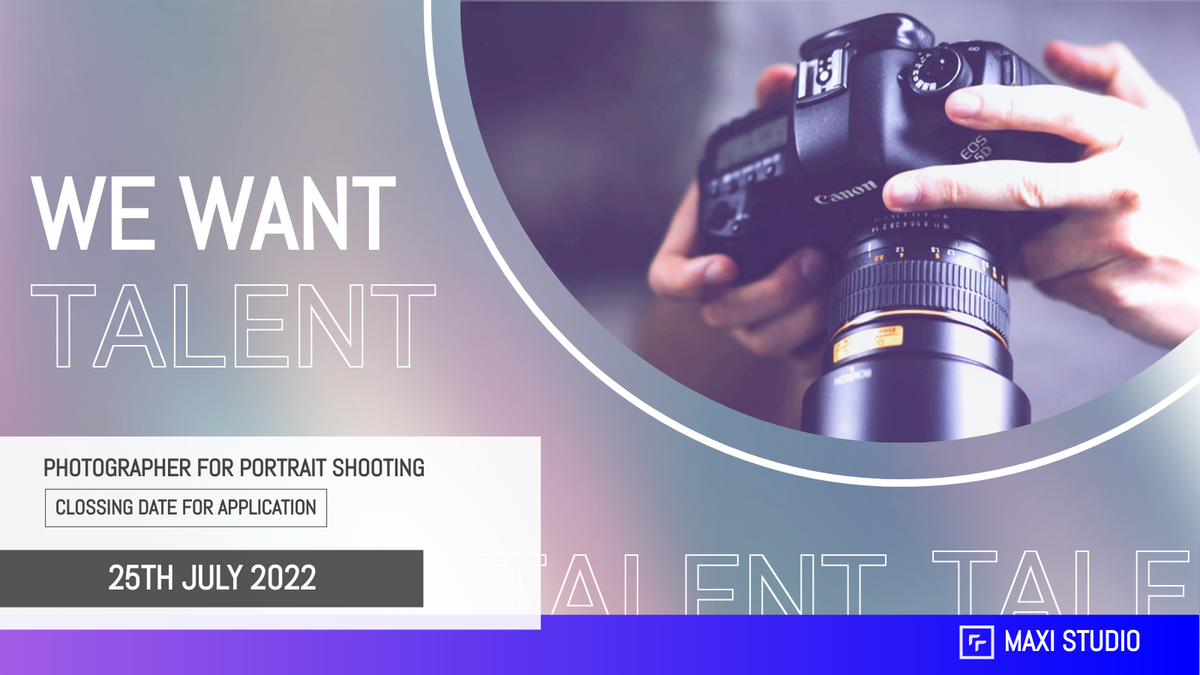 Twitter Post template: Photographer Recruit Twitter Post (Created by InfoART's Twitter Post maker)