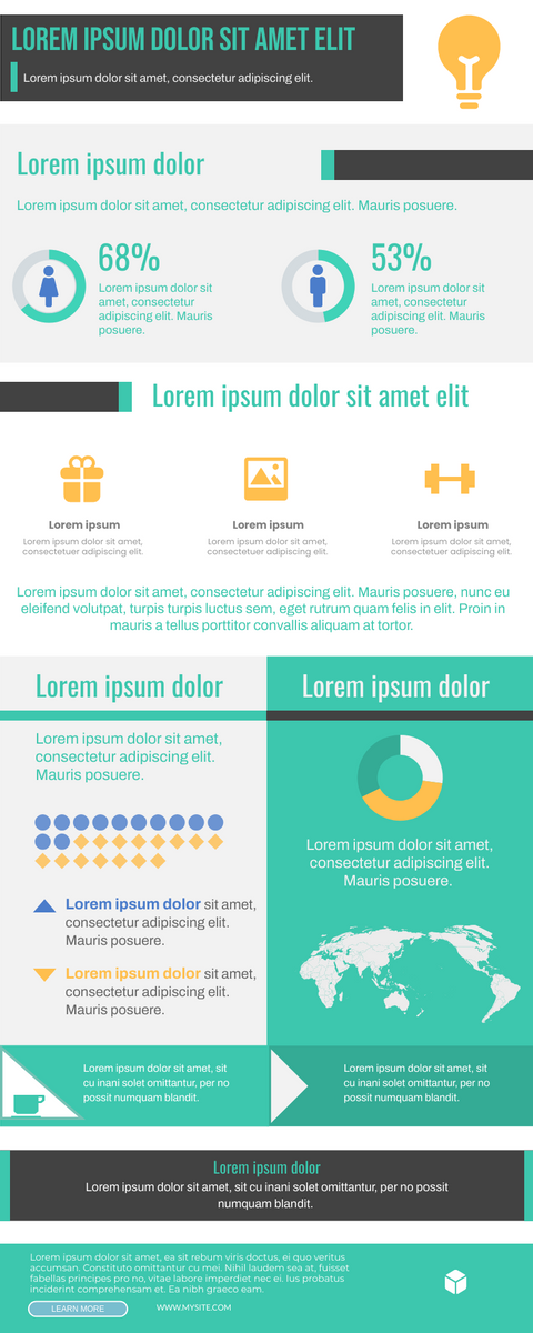 Infographic template: Infographics Of Energy Using (Created by InfoART's Infographic maker)