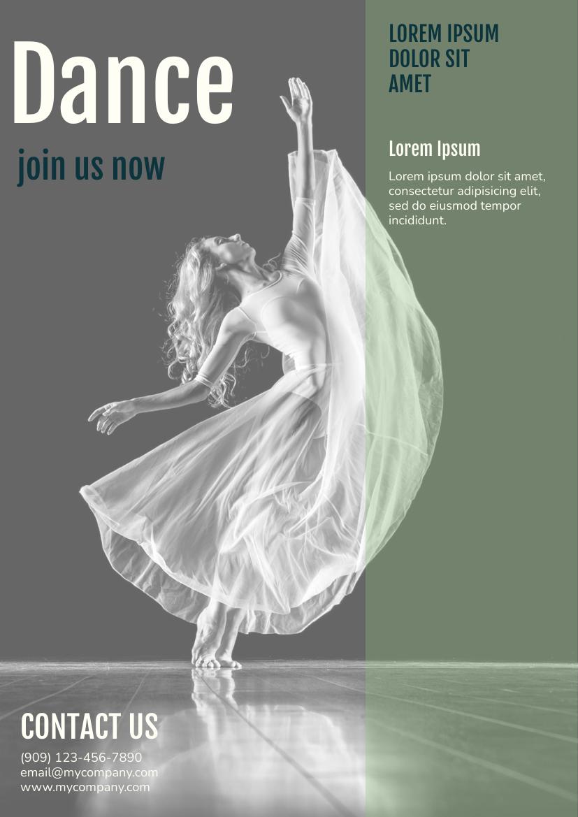 Flyer template: Dance Club Flyer (Created by InfoART's Flyer maker)