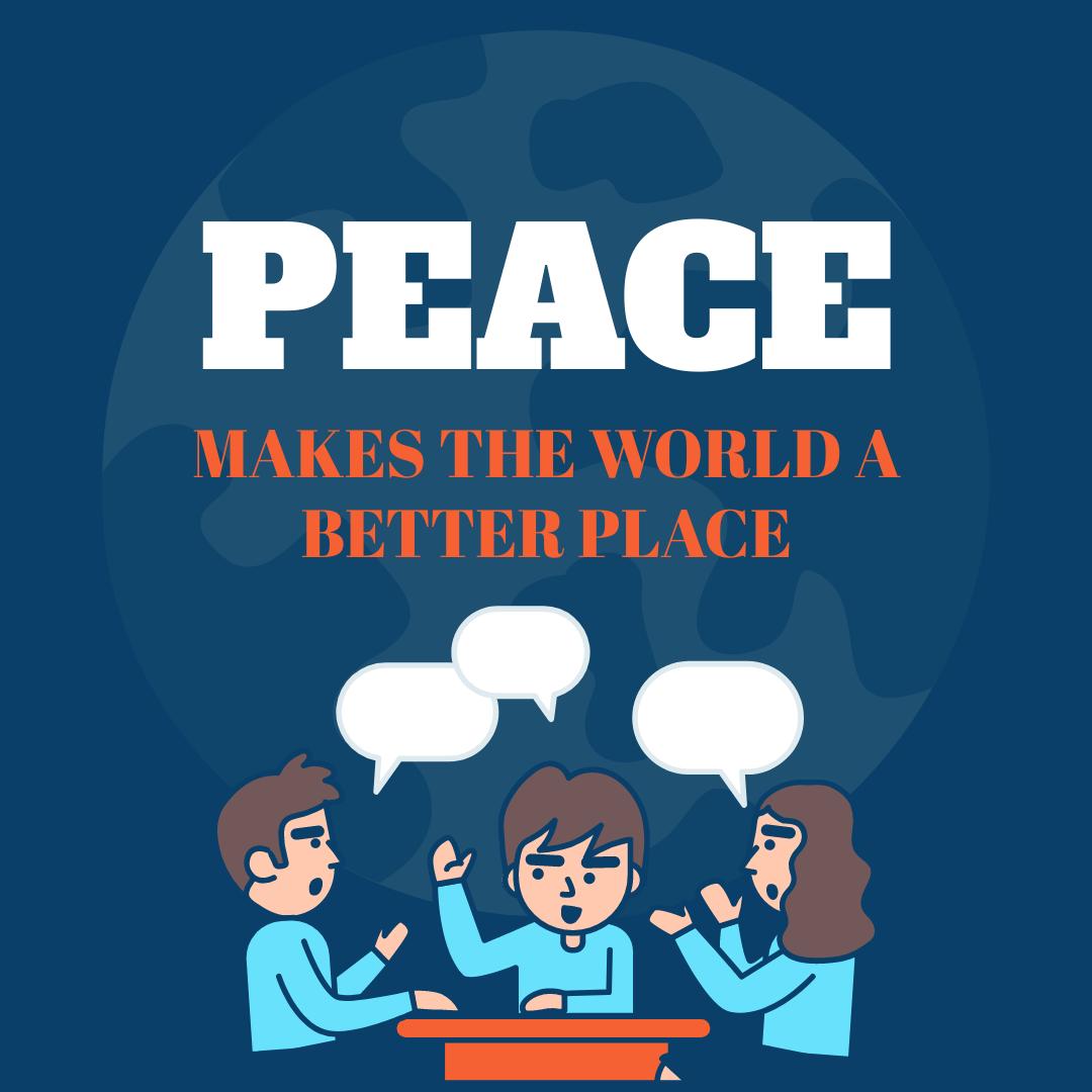 Instagram Post template: National Peace Maker Conference Instagram Post (Created by InfoART's Instagram Post maker)