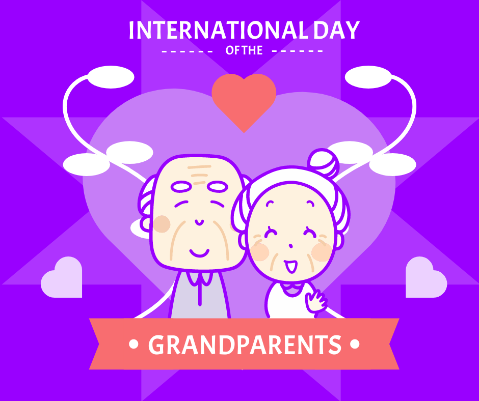 Facebook Post template: International Day Of Grandparents Facebook Post (Created by InfoART's Facebook Post maker)