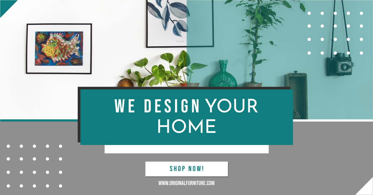 Facebook Ad template: Furniture Sell We Design Your Home Facebook Ad (Created by InfoART's Facebook Ad maker)