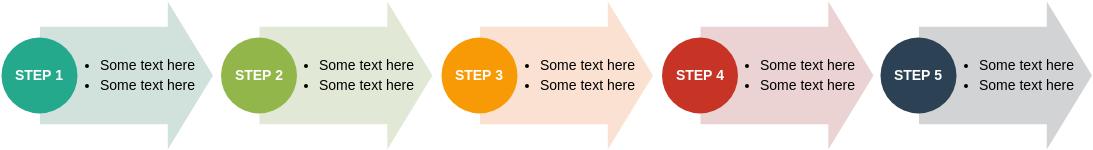 Process Arrows (Block Diagram Example)