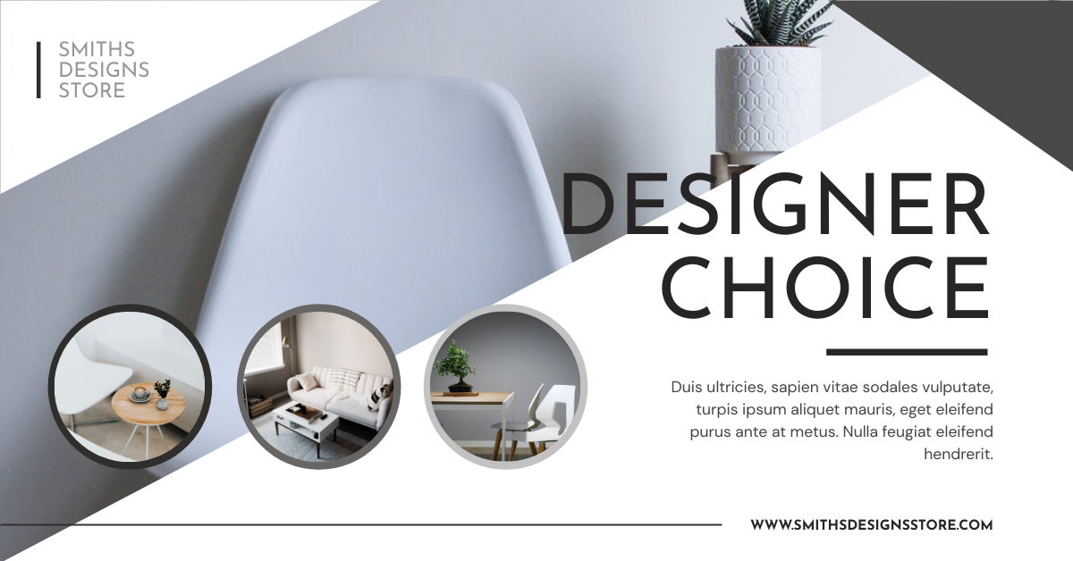 Facebook Ad template: Home Furniture Design Store Facebook Ad (Created by InfoART's Facebook Ad maker)