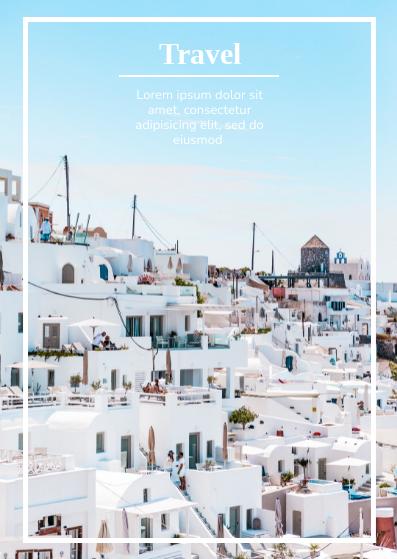 Postcard template: Travel Postcard (Created by InfoART's Postcard maker)