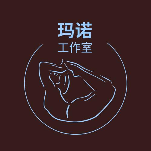 Logo template: 人型线条工作室标志 (Created by InfoART's Logo maker)