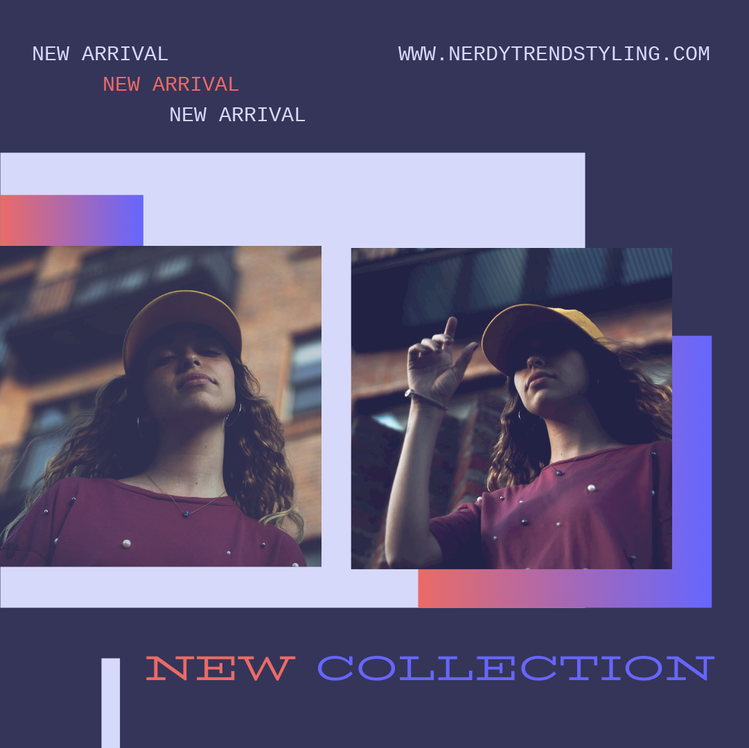 Instagram Post template: New Collection Instagram Post (Created by InfoART's Instagram Post maker)