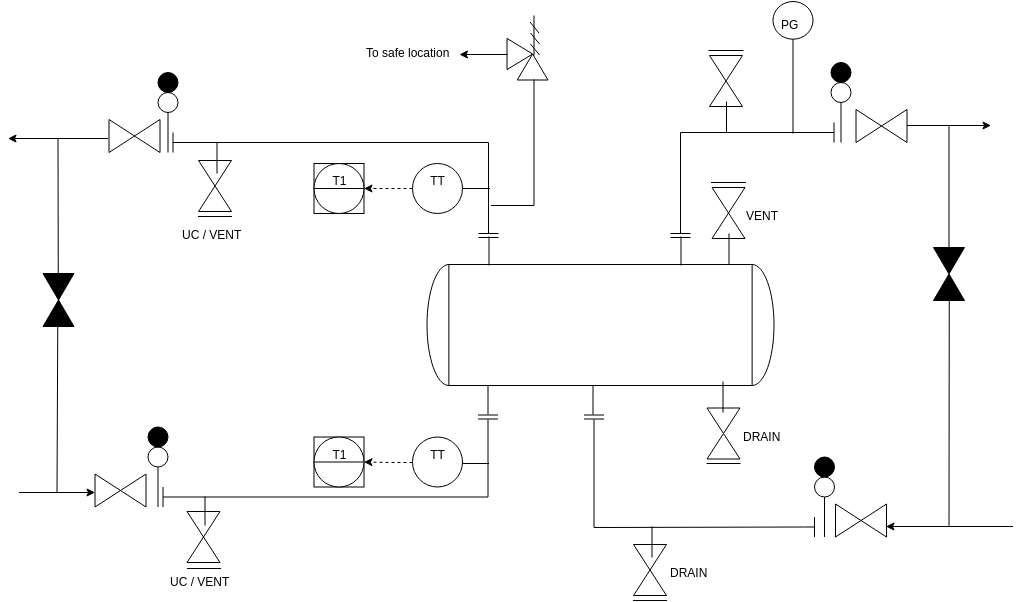 Piping And Instrumentation Diagram template: Heat Exchanges (Created by Diagrams's Piping And Instrumentation Diagram maker)