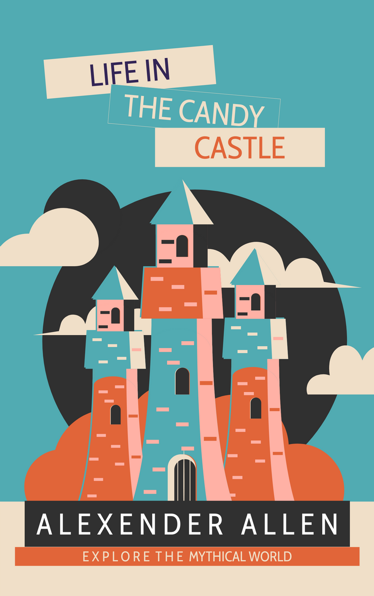 Book Cover template: Adventure In Castle Book Cover (Created by InfoART's Book Cover maker)