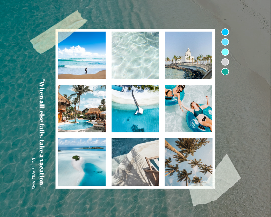 Mood Board template: Start Of Summer Mood Board (Created by Collage's Mood Board maker)