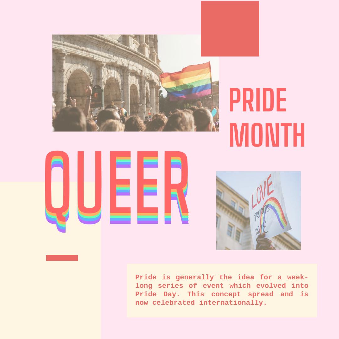 Instagram Post template: Pride Month Instagram Post (Created by InfoART's Instagram Post maker)