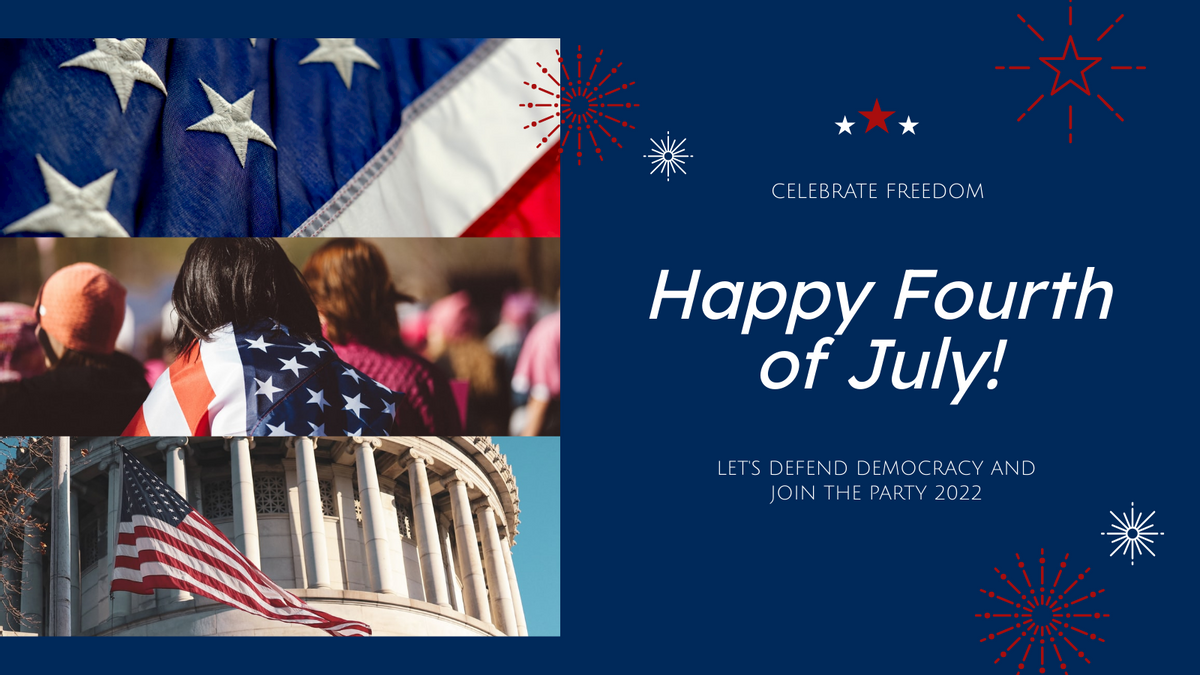 Twitter Post template: America Photos Happy 4th Of July Twitter Post (Created by InfoART's Twitter Post maker)