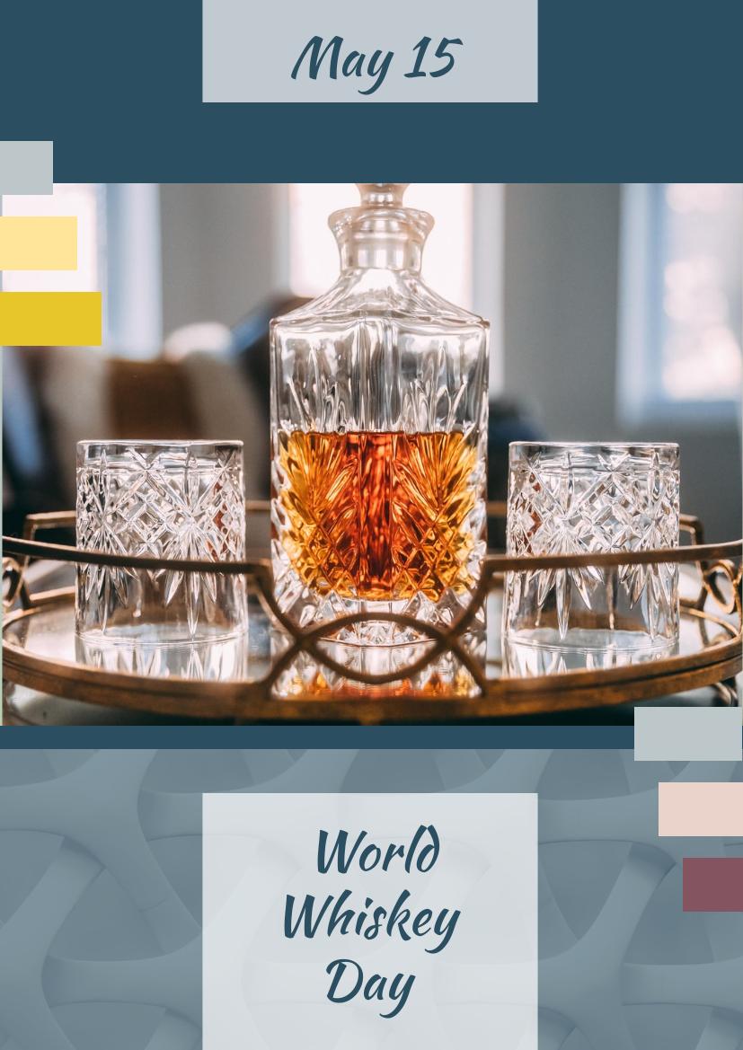 Flyer template: Global Whisky Day Celebration Flyer (Created by InfoART's Flyer maker)