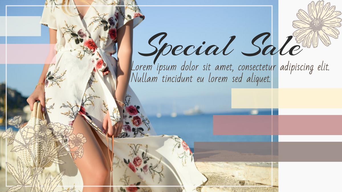 Twitter Post template: Special Sale Twitter Post (Created by InfoART's Twitter Post maker)